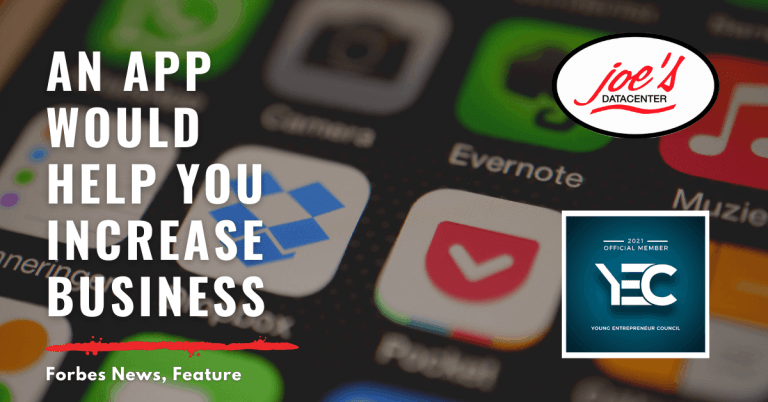 An App Would Help You Increase Business