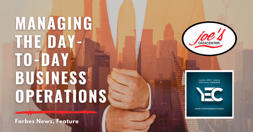 Managing the Day-to-Day Business Operations