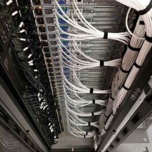 Back of Servers